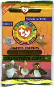 8bc2660dd75 Beanie Baby Trading Cards - Ty BBOC Series 1 Information