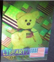 06f8870b344 The Rare Bear cards are wonderful full hologram cards of some of Ty s  Bears. There are a total of 12 of them and come in four different colors   Blue